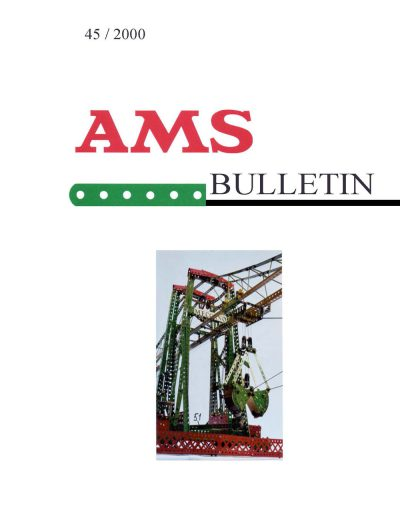 AMSclub Titelbild Bulletin 45/2000