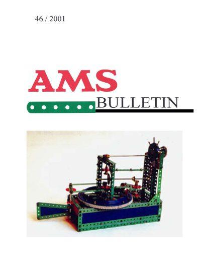 AMSclub Titelbild Bulletin 46/2001