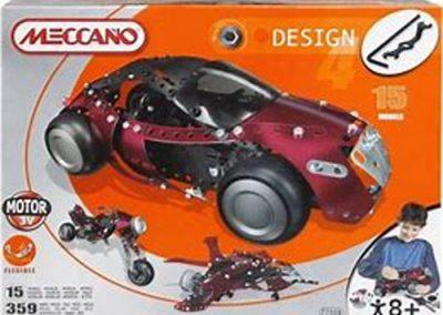 Meccano Design mit biegbaren Bändern