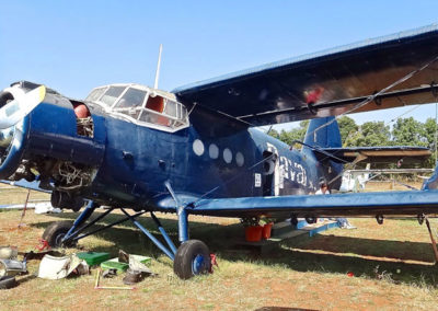 Foto Originalflugzeug